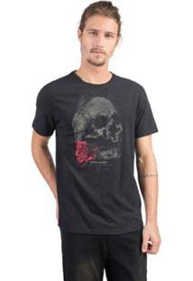 Camiseta Estampada Taco Masculina - Masculino-Preto