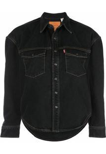 Wardrobe.Nyc Jaqueta Jeans X Levi'S Release 04 - Preto