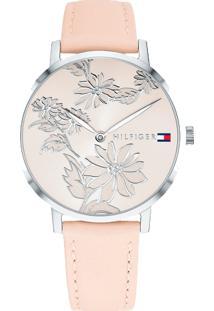 c723654e4c474 ... Relógio Tommy Hilfiger Feminino Couro Rosa - 1781919