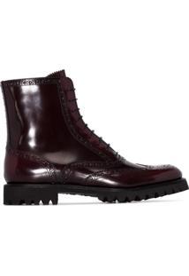 Church'S Ankle Boot Cammy - Vermelho