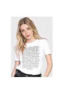 Camiseta Calvin Klein Jeans Text Branca