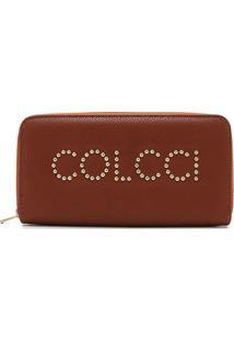 Carteira Colcci Logo Caramelo - Kanui