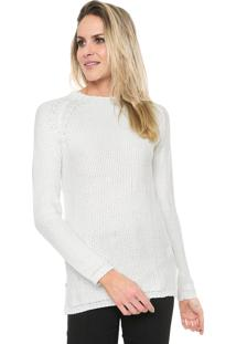 Suéter Mercatto Tricot Raglan Off-White
