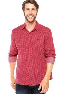 Camisa Sommer Xadrez Vermelha