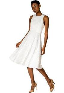 8bda35e52 R$ 889,99. Zattini Vestido Off White Alphorria Recorte ...