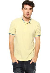 Camisa Polo Colcci Slim Amarela