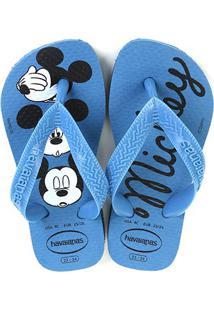 Sandália Infantil Havaianas Top Disney Cf - Masculino-Azul