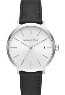 Relógio Michael Kors Mk8674/0Pn Preto/Prata