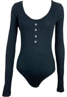 Body Be Sweet Anny Feminino - Feminino-Preto