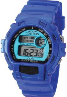 Relógio Cosmos Os41379F Azul