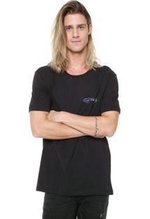 Camiseta Ed Hardy Puffy Preta