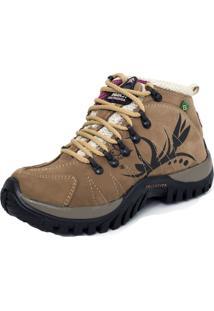 Bota Coturno Tchwm Shoes Adventure Bege