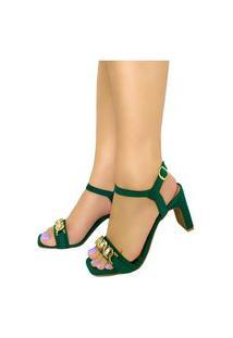 Sandália Bellatotti Jade Verde