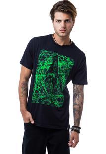 Camiseta Zero Shape Line Sandoval Preto
