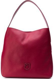 Furla Bolsa Tote Com Estampa De Logo - Vermelho