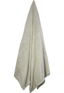 Cobertor Velour De Microfibra Neo De Casal- Bege Claro