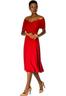Vestido Drape Lateral Alphorria