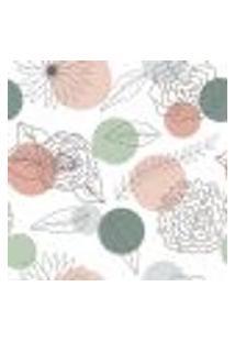 Papel De Parede Adesivo - Flores - 140Ppf