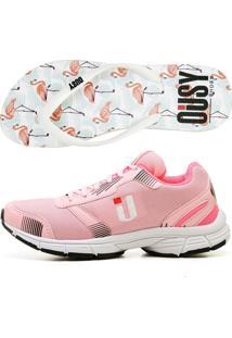 Kit Tênis Chinelo Ousy Shoes Alto Verão Rosa