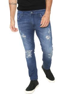 Calça Jeans John John Skinny Utah Azul