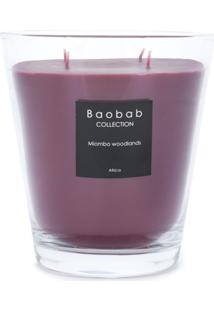 Baobab Collection Miombo Woodlands Candle - Vermelho