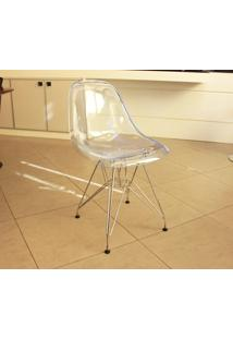Cadeira Eames Dsr (Cores Transparentes)