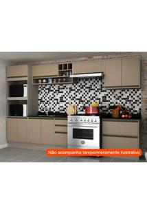 Cozinha Compacta Safira I 9 Pt 5 Gv Capuccino E Creme
