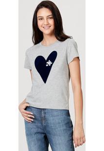 Camiseta Feminina Manga Curta Em Malha De Algodão Estampada Tal Mãe Tal Filho