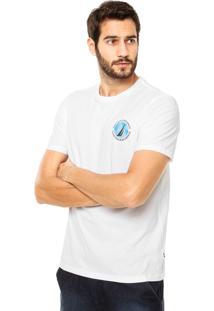 Camiseta Nautica Classic Fit Branca