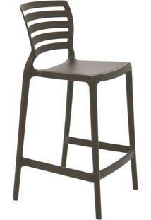 Cadeira Sofia- Marrom Escuro- 93,5X48X47Cm- Tramtramontina