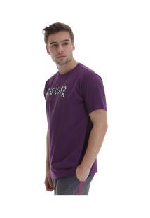 Camiseta Fatal Estampada 22125 - Masculina - Roxo Escuro