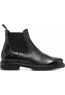 Doucal'S Ankle Boot Chelsea - Preto