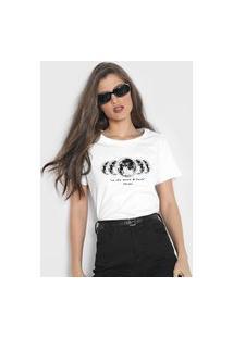 Camiseta Polo Wear The Moon Branca
