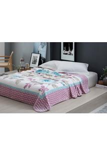 Cobertor Casal 1,80X2,20M Raschel Essence - Corttex Estampado