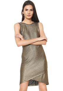 29df111ca Vestido Colcci Dourado feminino | Gostei e agora?