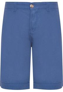 Bermuda Masculina Linho - Azul Marinho