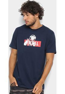 Camiseta Fatal Estampa Logo Masculina - Masculino