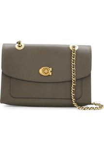 Coach Parker Shoulder Bag - Marrom