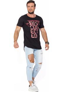 Camiseta Oversized Básica Disconected