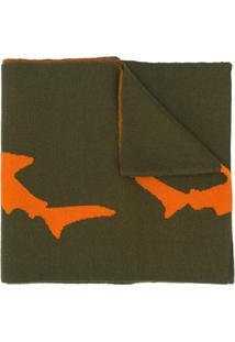 Raeburn Cachecol De Tricô Shark - Verde