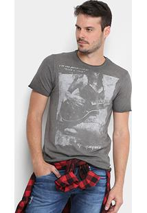 Camiseta Opera Rock Guitarra Masculina - Masculino