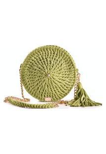 Bolsa Crochê Luxo Pistache Vick Marí