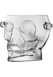 Balde De Gelo Skull- Incolor- 15X19X16Cmurban