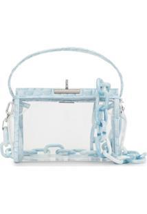 Gu_De Bolsa Tiracolo Clear Water - Azul