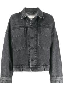 Diesel Jaqueta Jeans - Cinza