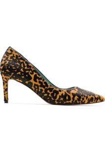 Blue Bird Shoes Scarpin Pelo Onça Itacaré - Estampado