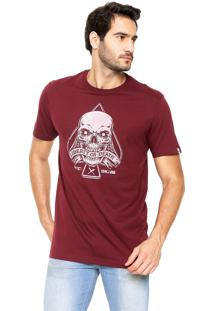 Camiseta Mcd Liberty Or Death Vinho