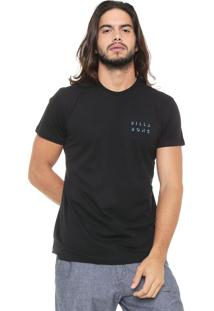 Camiseta Billabong Shadow Preta