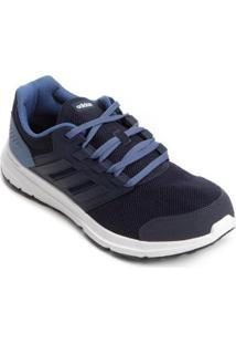 Tênis Adidas Galaxy 4 Masculino - Masculino-Marinho+Azul