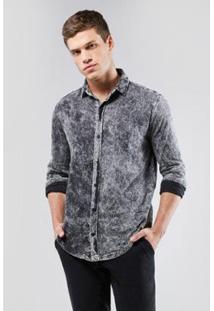 Camisa Reserva Regular Indigo Malha Inv.17 - Masculino